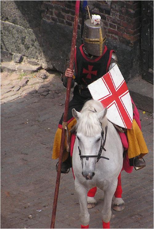 фото рыцаря средневековья карандашом